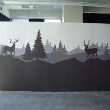 Mural for the Peir One Catalog