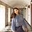 "Thumbnail: ""Yangon"" long sleeve silk shirt, ""Goa"" long silk skirt"