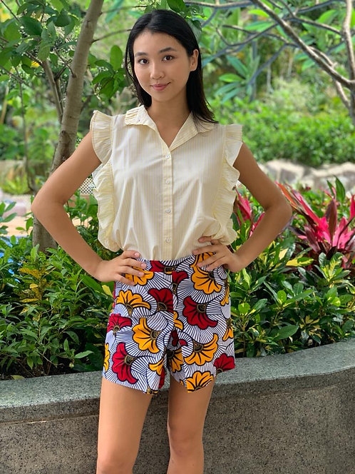 """Phuket"" cotton shirt, ""Bukit cotton shorts"