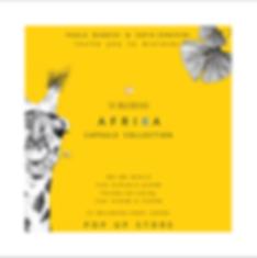 Afrika invitation Cri Cri Studio