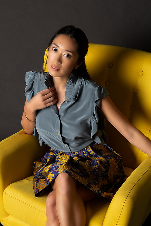"""Phuket"" shirt & ""Ventiane"" skirt"