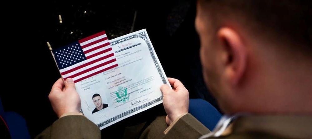 Получить американское гражданство служа в армии