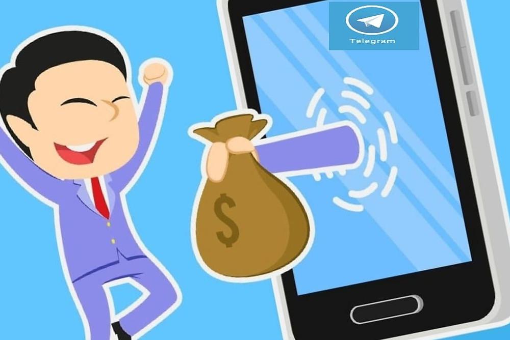 Как заработать онлайн в телеграмме