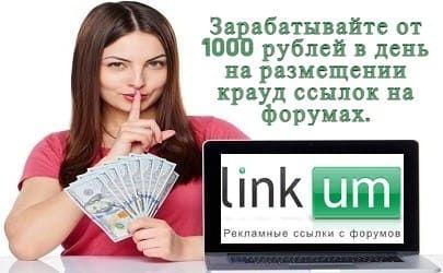 Заработок в интернете на размещении крауд ссылок