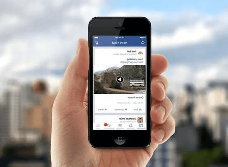 Создать рекламу на Facebook через приложение