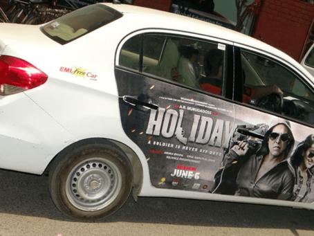 Как заработать на размещении рекламы на своём автомобиле | Мобильное приложение