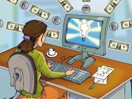 Заработок онлайн на оказании посреднических услуг интернет-магазину.