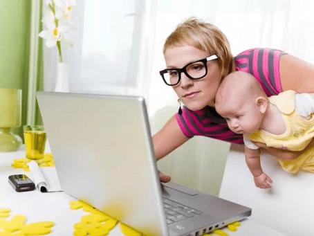 Способы заработка в интернете для молодых мам
