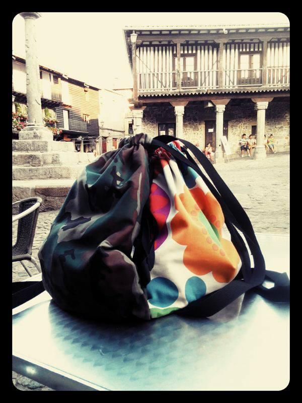 Pareja de mochilas