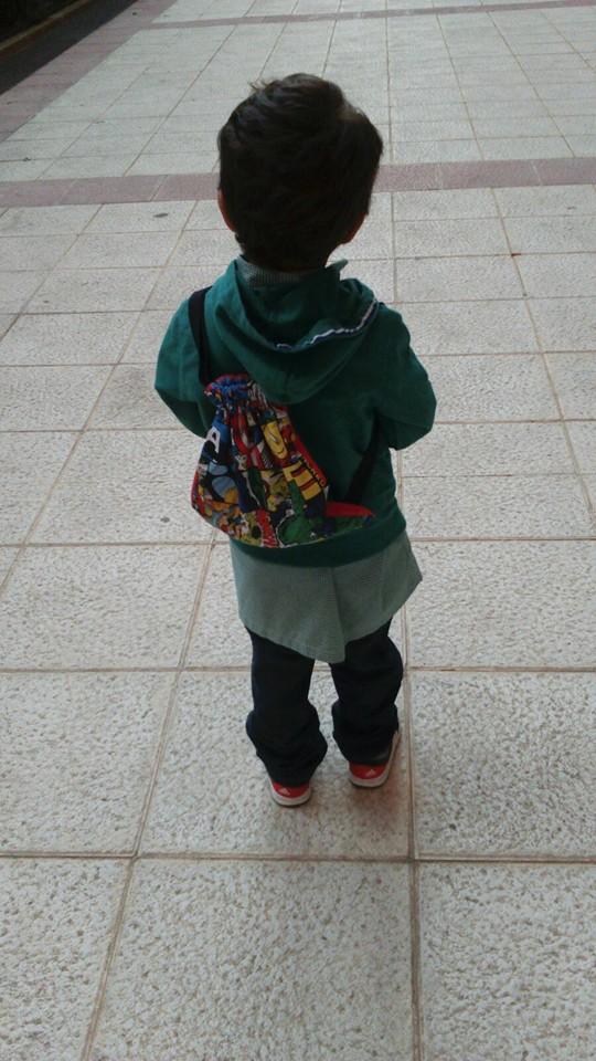 A la escuela