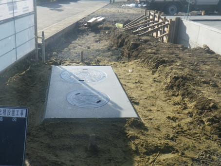 岩手県久慈市で浄化槽設置工事を行いました