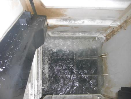 岩手県大槌町で浄化槽修理を行いました