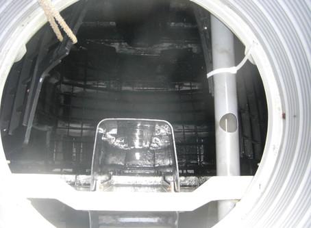 青森県今別町で浄化槽修理を行いました