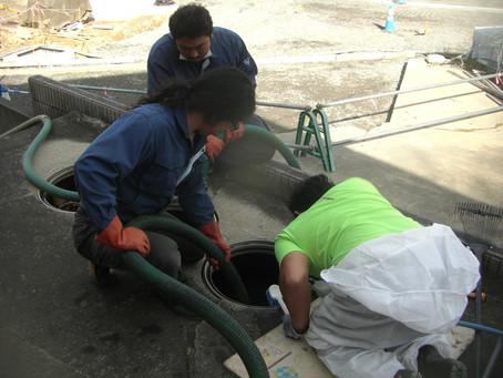 宮城県石巻市で浄化槽修理を行いました