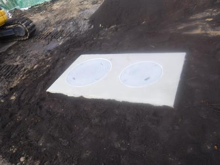 岩手県二戸市で浄化槽設置工事を行いました