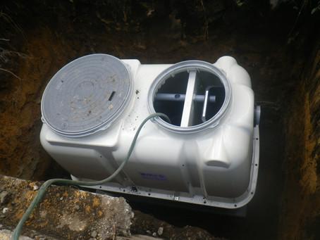 青森県八戸市で浄化槽設置工事を行いました
