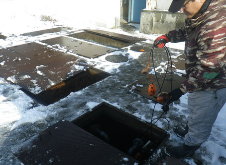 排水処理施設の復旧・立ち上げを行いました