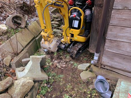 青森県八戸市で排水管工事を行いました