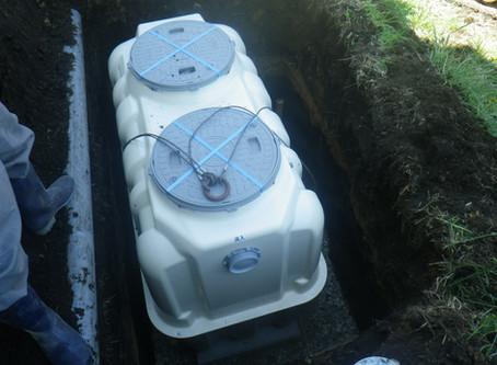 岩手県洋野町で浄化槽設置工事を行いました