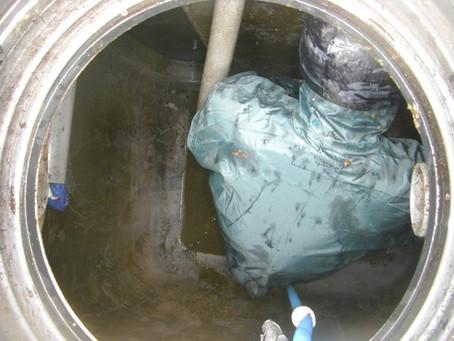 岩手県遠野市で浄化槽修理を行いました