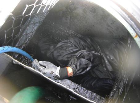 青森県新郷村で浄化槽修理を行いました