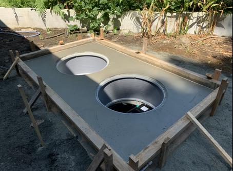 岩手県二戸市で浄化槽工事を行いました。