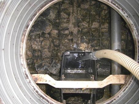 青森県六戸町で浄化槽修理を行いました