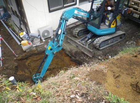 青森県八戸市で浄化槽工事を行いました