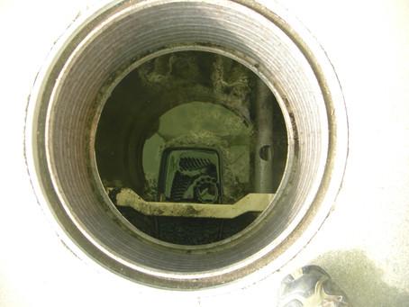 青森県平川市で浄化槽修理を行いました