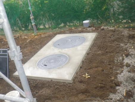 岩手県普代村で浄化槽設置工事を行いました