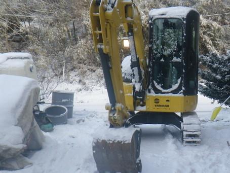 岩手県一戸町で浄化槽工事を行いました