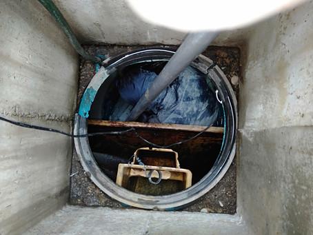 青森県八戸市で浄化槽修理を行いました