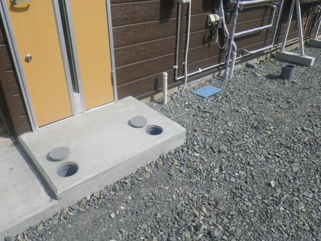 岩手県二戸市で下水道切替を行いました