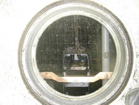北秋田市で浄化槽の修理を行いました
