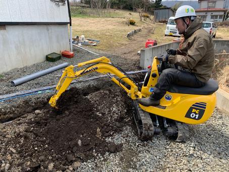 岩手県二戸市で排水工事を行いました