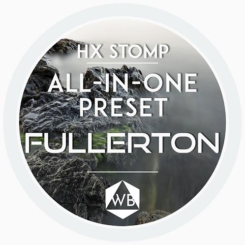 HX Stomp Preset FULLERTON