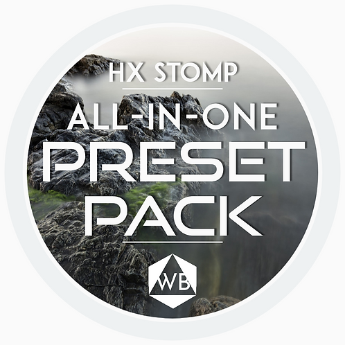 HX Stomp All-in-One Preset Pack
