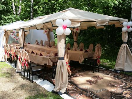 Преимущества и недостатки ресторана для свадьбы, расположенного на природе