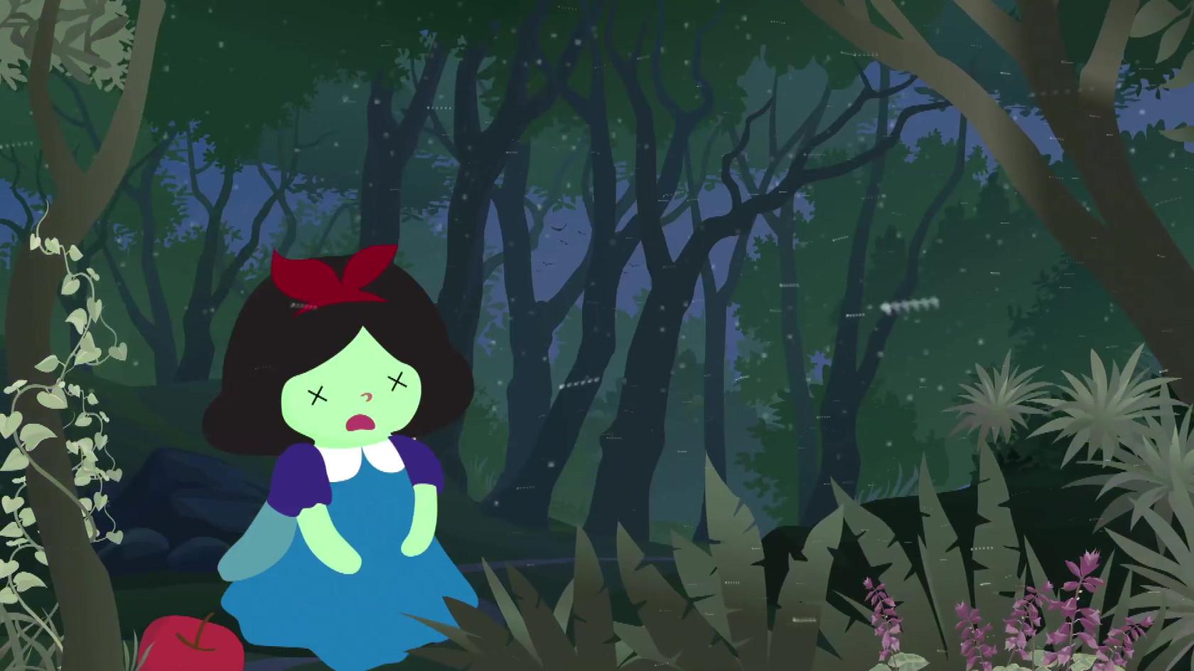 30 Second Snow White
