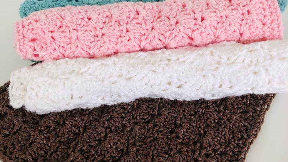 Crochet Cotton Facial Washers