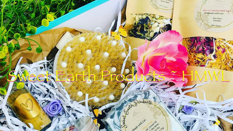 Sweet Earth Deluxe Spa Gift Box