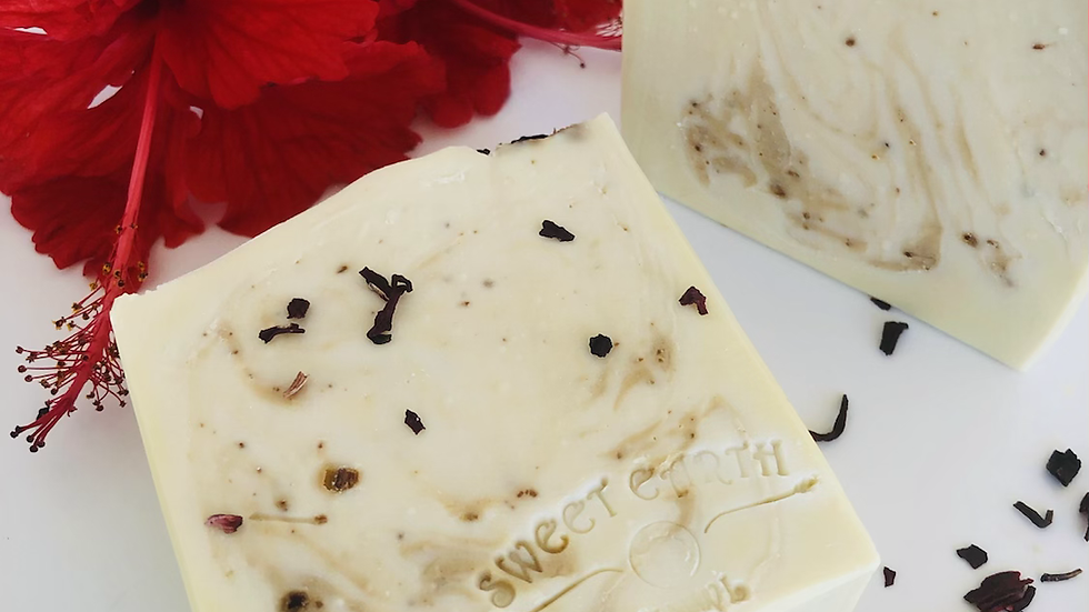 Hibiscus Holiday Artisan Soap