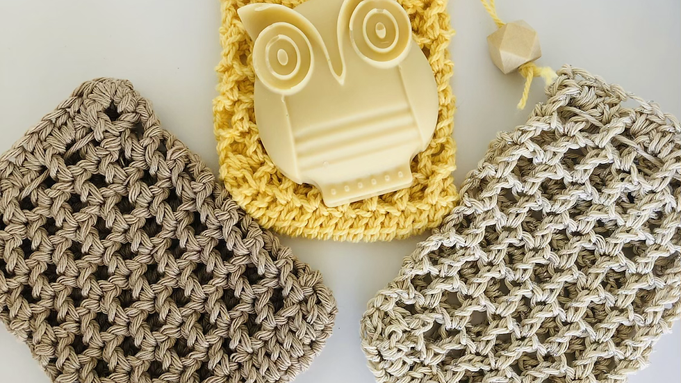 Sweet Earth Crochet Soap Savers