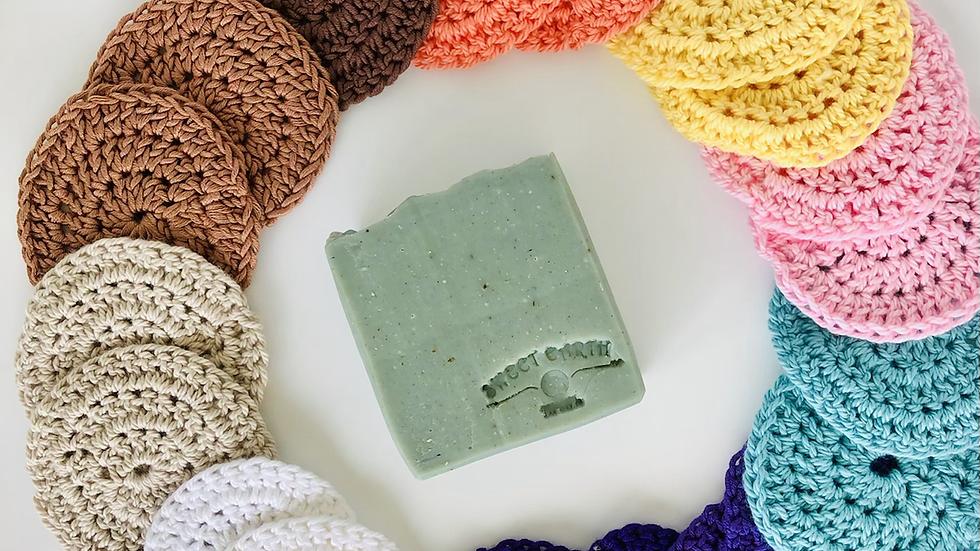 Reusable Crochet Cotton Scrubbies
