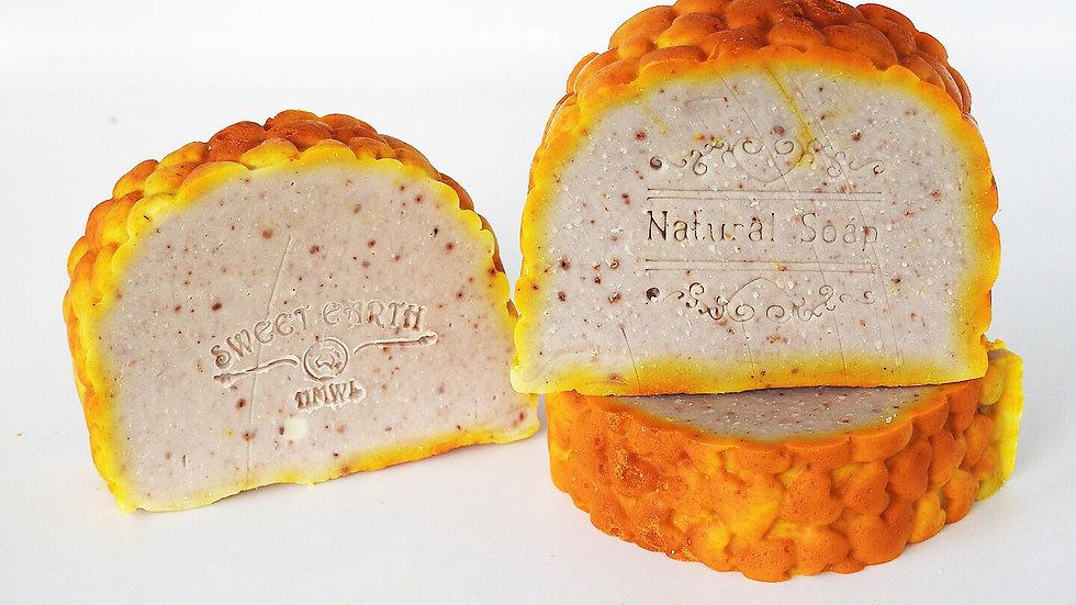 Rosehip & Saffron on Neem Artisan Soap