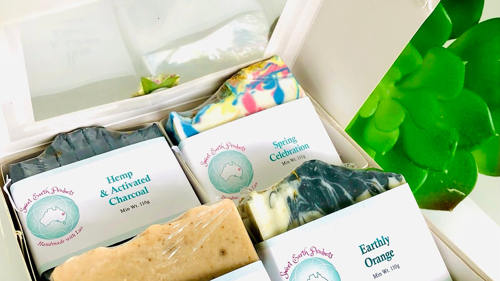 Sweet Earth Artisan Soap Gift Boxes