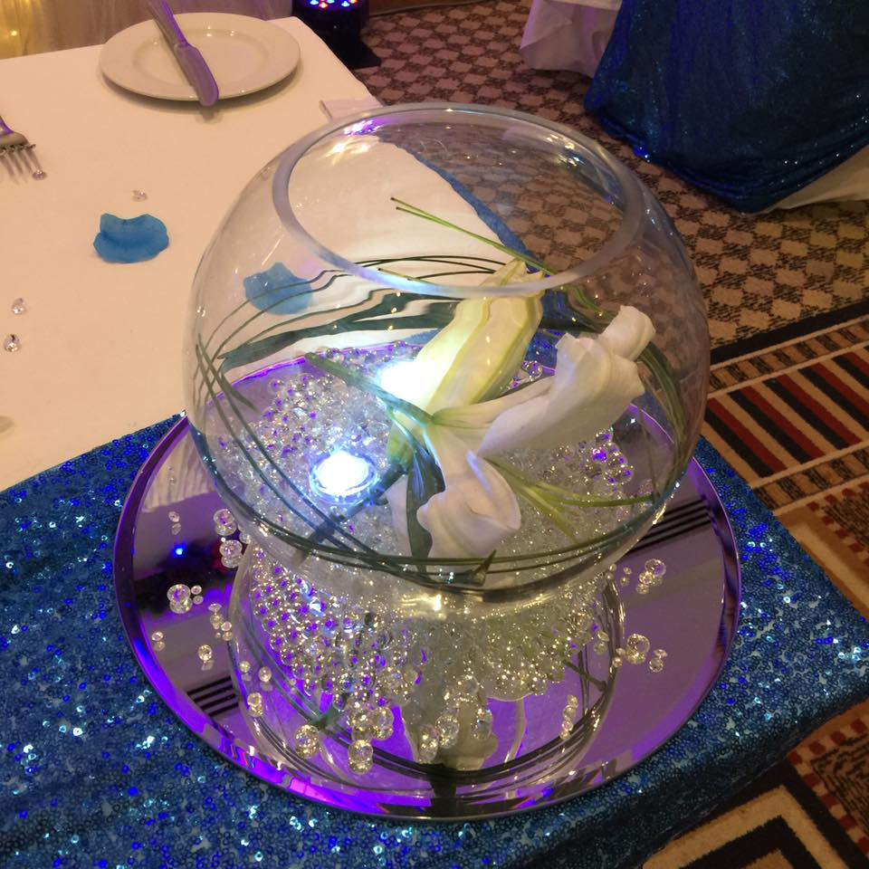 Fish Bowl Centerpiece