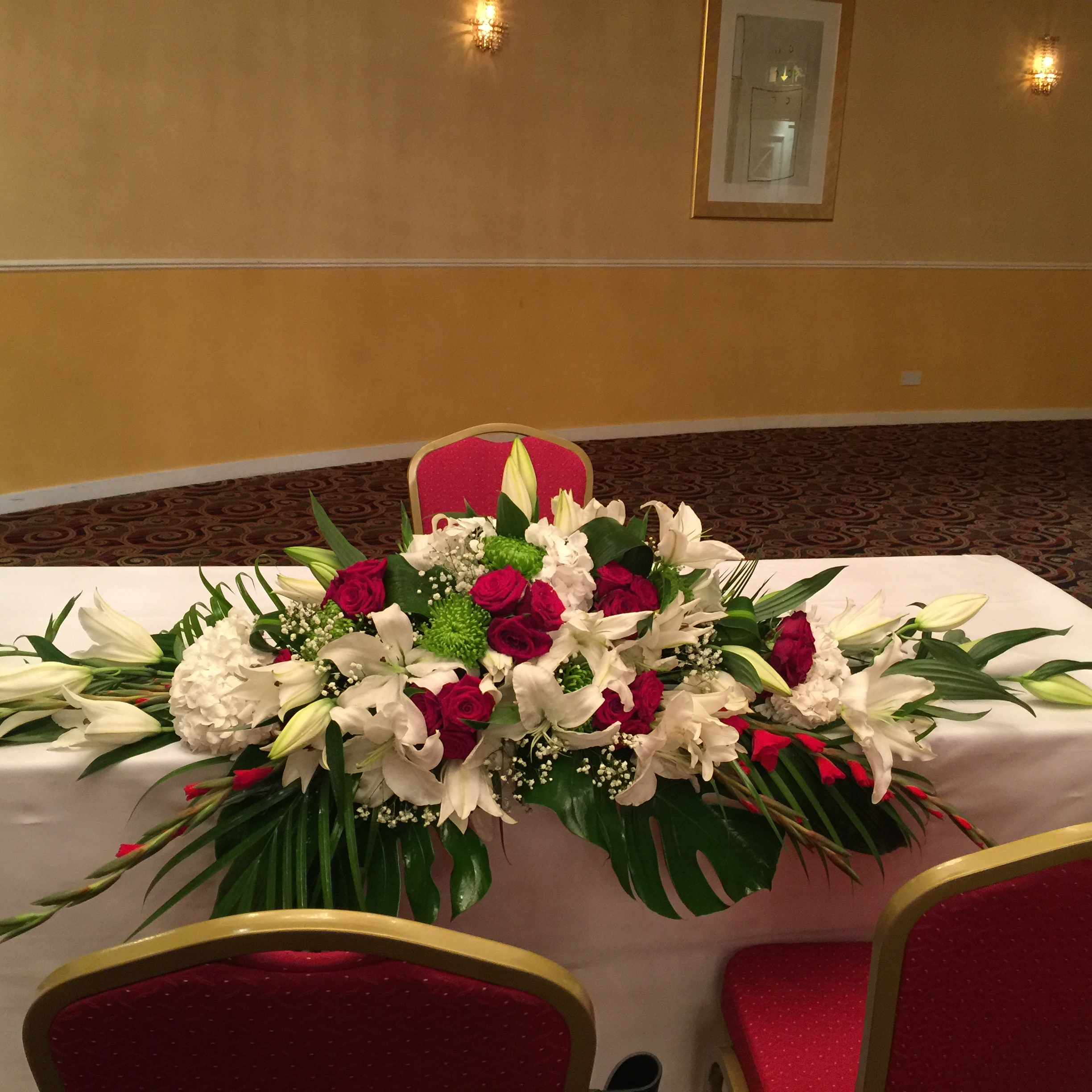 Wedding Ceremony Signing Table