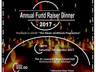 The Barbados Red Cross Society      Annual Fundraising Dinner