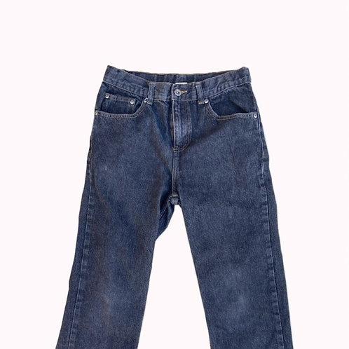 Black Wrangler Relaxed Jeans